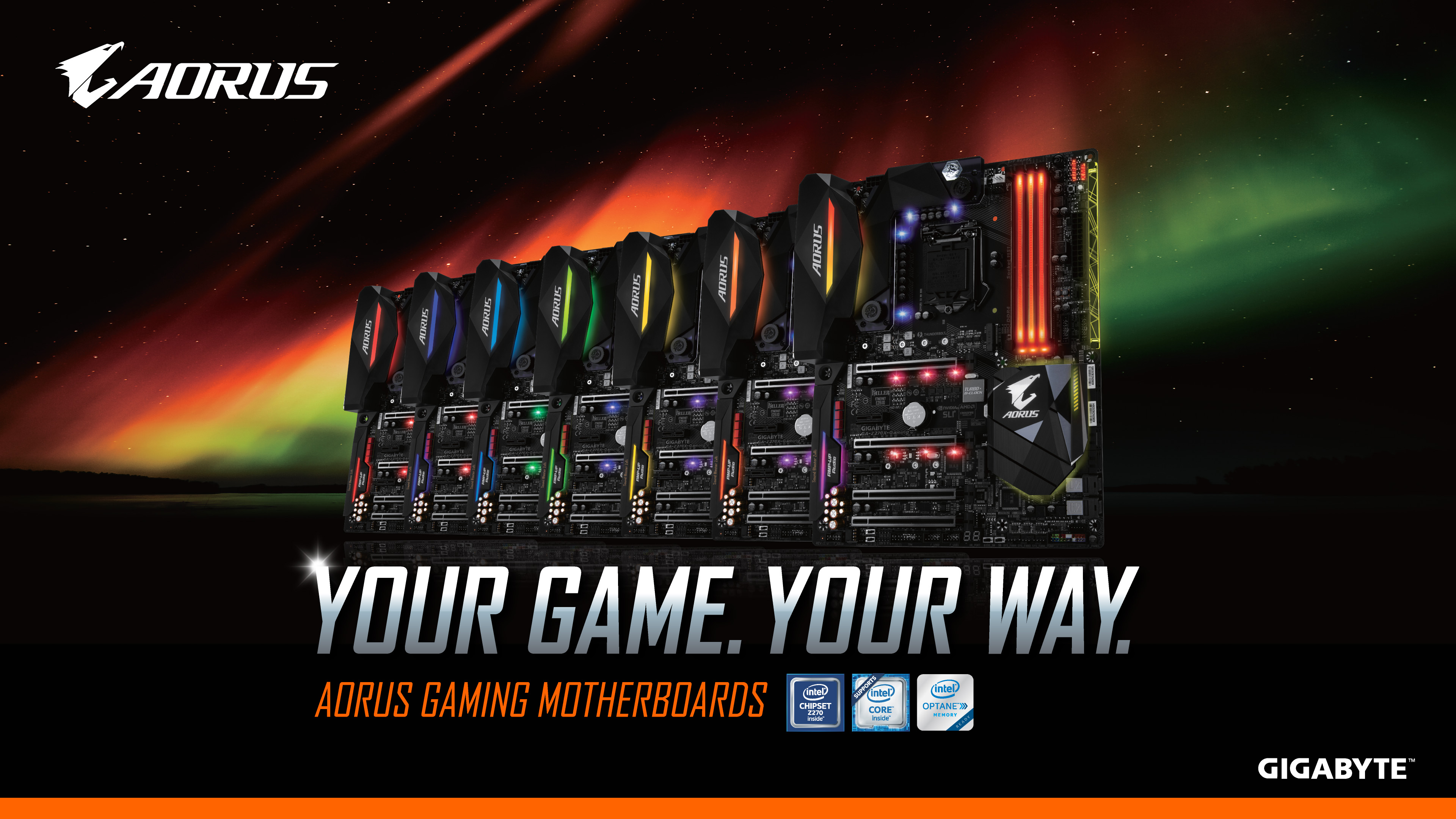 Your Game. Your Way.