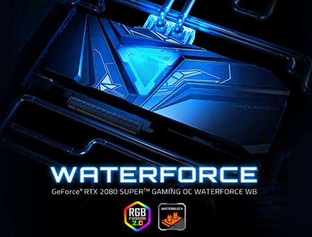 GIGABYTE lança placa de vídeo GeForce® RTX 2080 SUPER ™ GAMING OC WATERFORCE WB 8G